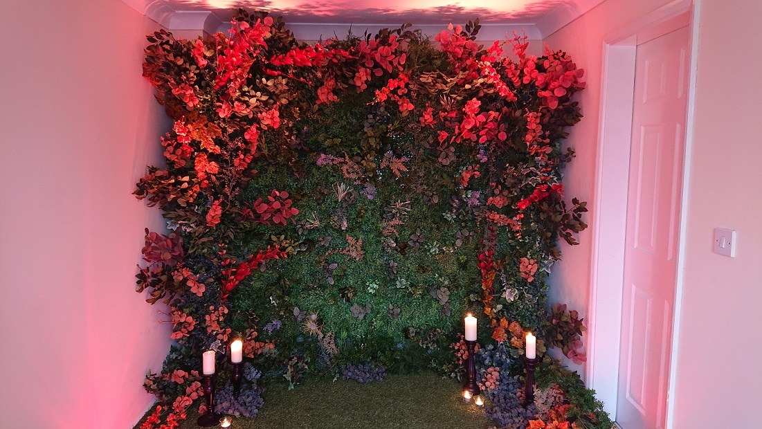 Autumn-Flower-wall-decor
