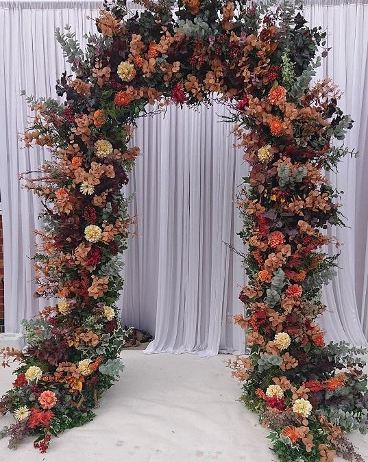 Autumnal arch