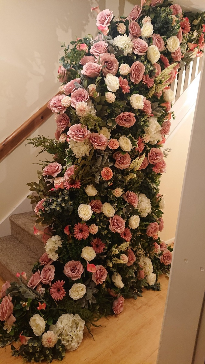 Staircase-flowers