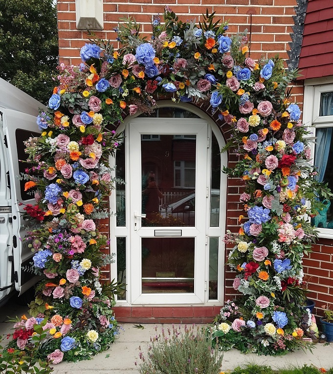 Large scale Summer-floral-arch
