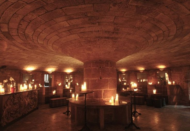 Cellar Bar at Peckforton Castle