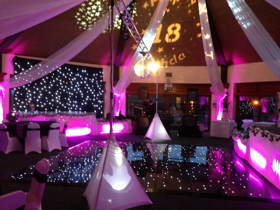 School prom decorations woodyatt warner for 18th birthday party decoration ideas