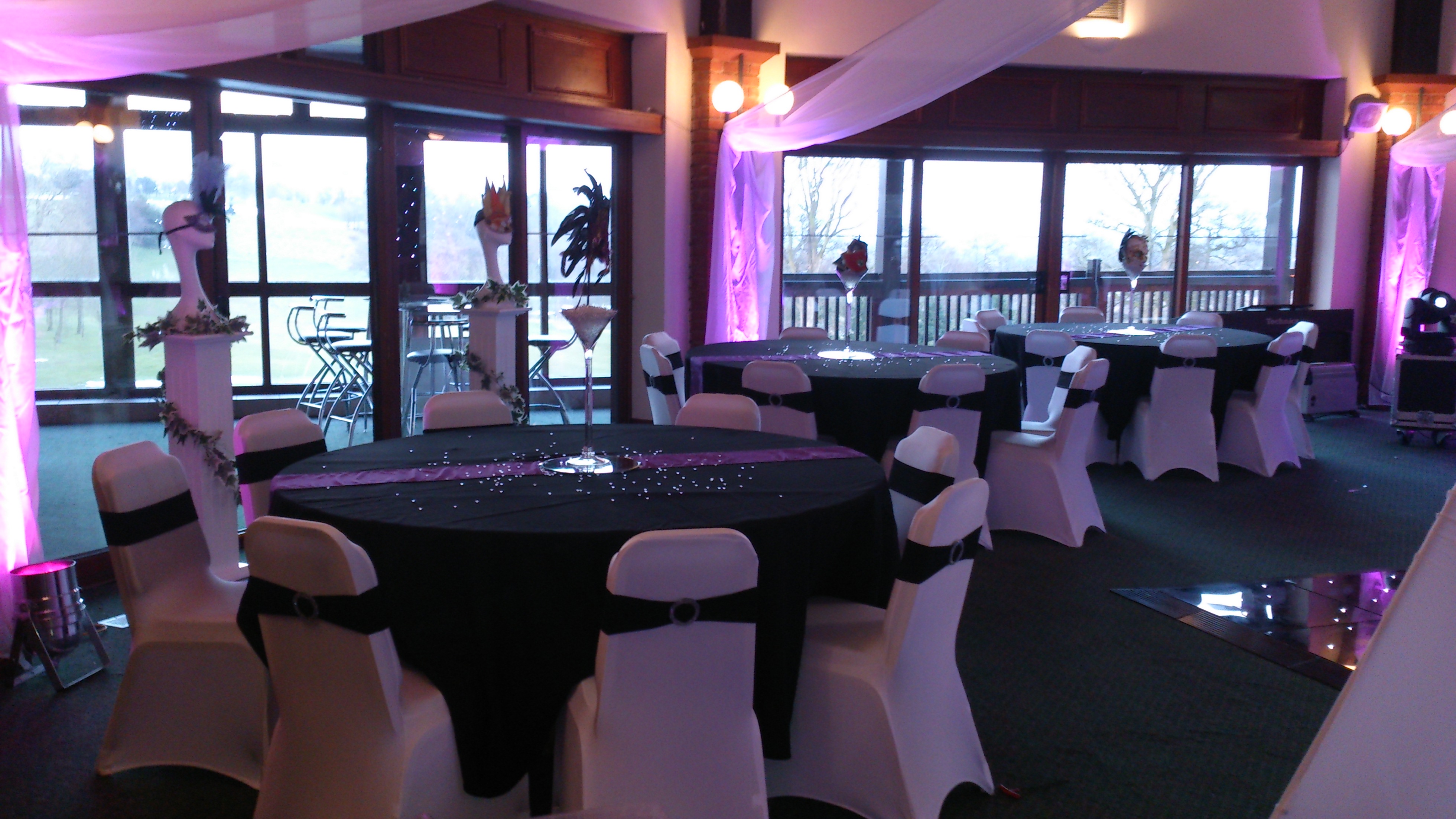 School prom venue dressers woodyatt warner for How can prom venues be decorated