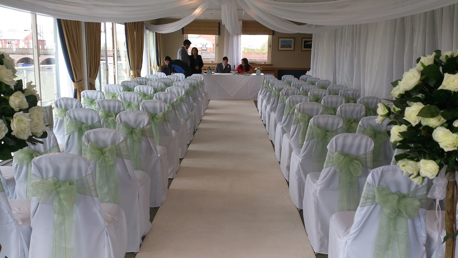 Ceremony Room At Chester Race Course Woodyatt Warner