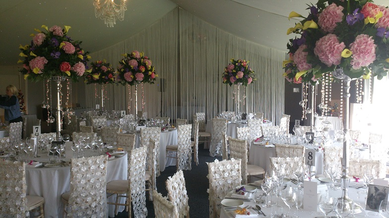 Combermere Abbey Wedding Venue Dressing