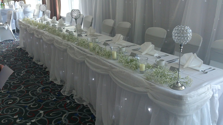 Radisson Blu Top Table Set Up Woodyatt Warner
