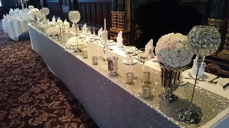 Silver Top Table Decor Woodyatt Warner