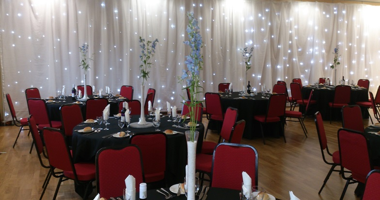 wall draping hire cheshire and manchester