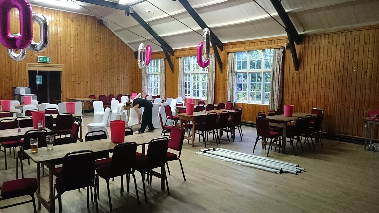 victory hall in mobberley