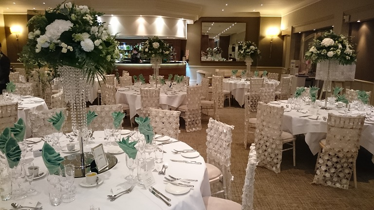 venue decorations cheshire