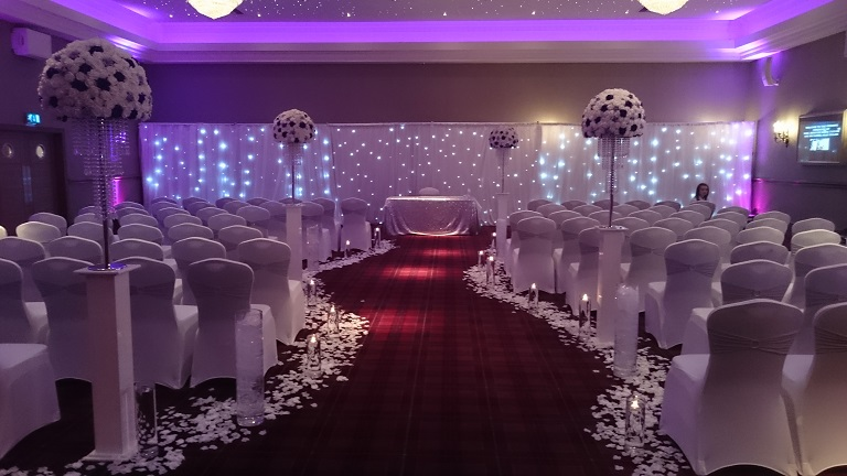 Venue Dressers Cheshire Woodyatt Warner