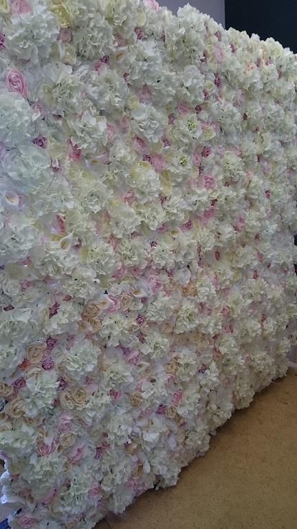 Flower wall hire for weddings