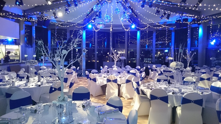 venue dressing at the lowry compass room