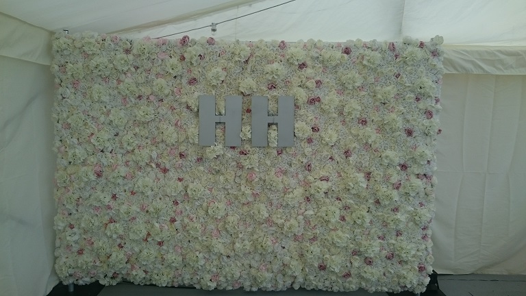 Flower Wall hire UK