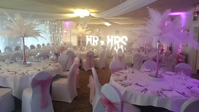 wedding venue dressers