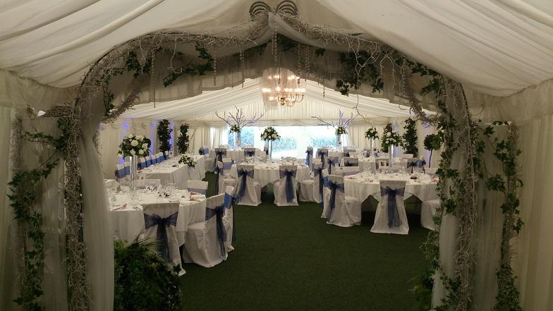 marquee wedding decorations
