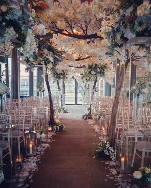 Titanic Hotel weddings