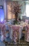 Ruffled chair covers